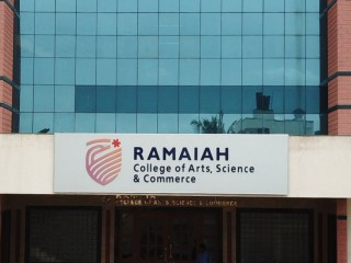 MS Ramaiah college of arts and science